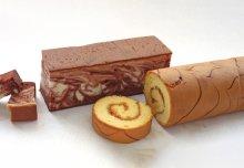 商品の詳細/おいしいお召し上がり方/お客様の声2: 手製マーブルケーキ&ジューシーマーマレードロール ハーフセット