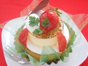 kobebelle製・おいし〜い★いちごのケーキ